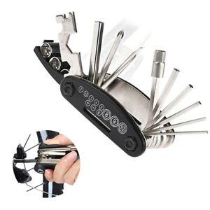 15-in-1 Motorcycle Repair Tool Bike Accessories Allen Key Hex Wrench Screwdriver