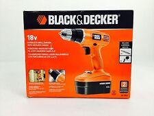 BLACK&DECKER GC1801 18V CORDLESS DRILL/DRIVER KEYLESS CHUCK
