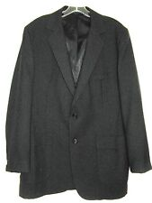 New listing VINTAGE ACADEMY AWARD CLOTHES BLACK SPORTS JACKET TWO BUTTON SIZE 42L 1960's