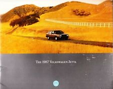 1987 87 VW Jetta original sales brochure