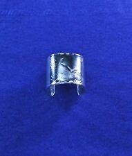 Paisley Pattern Sterling Silver Ear Cuff