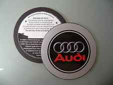 Magnetic Tax disc holder fits audi a1 a8 a3 quattro a4 a6 coupe tt cabrio avant