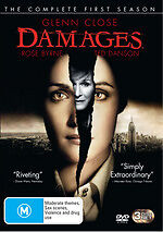 DAMAGES - SEASON 1 - THE COMPLETE (GLENN CLOSE) 3DVD SET - BRAND NEW!! SEALED!!!