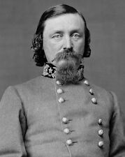 Civil War General GEORGE PICKETT Glossy 8x10 Photo Portrait Confederate Army