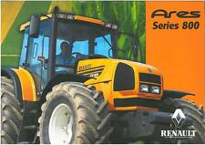 RENAULT TRACTOR ARES 815RZ 825RZ BROCHURE - REN2