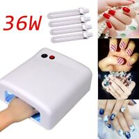 Nail Manicure Dryer LED Lamp Pro Polish UV 36W Gel Acrylic Curing Light Spa Kit