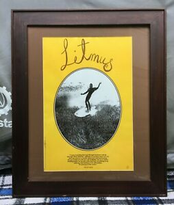 Litmus: A Surfing Odyssey Movie Poster - Limited Edition - Signed - 1996 Kidman