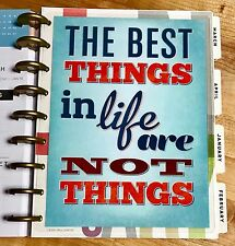 The Best Things in Life Two Sided DASHBOARD for use with Happy Planner