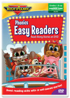 Phonics Easy Readers DVD by Rock 'N Learn (New)