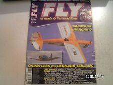 **c Revue Fly International n°177 Plan encarté Pokker IX / ASH 26 Staufenbiel