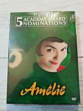 Amelie (Dvd, 2001, 2-Disc Set) Jean-Pierre Jeunet. ~ Brand New Sealed.