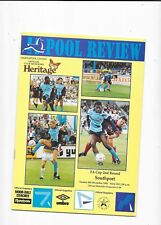 Hartlepool v Southport FA Cup 2nd Round 6/12/1992