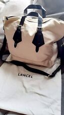 LANCEL GENUINE TRAVEL HANDBAG
