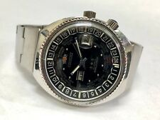Orient World Diver World Time Men's 1970's Vintage Watch