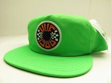 HUF NEON Green Snapback Hat Circular Patch Logo NEW WITH TAGS