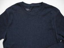 Levi's Mens Thermal Casual Shirt Medium Solid Blue