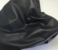 GENUINE LAMBSKIN LEATHER 1.5 OZ NAPA SKIN 4 GARMENT BAGS LARGE 231 BLACK 7-8 SF