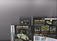 Star Wars vuelo del halcón Gameboy Advance GBA/DS/