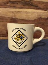 Vintage 1980 BSA Cub Scout Day Camp Coffee Mug