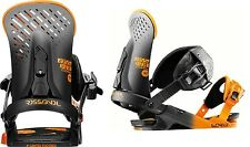 ATTACCHI bindings Snowboard Powder Freeride ROSSIGNOL CUDA M/L 2016