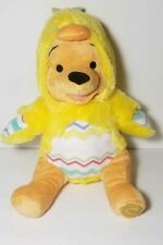 Winnie The Pooh Easter Plush in Chick Costume Disney Store Patch On Foot Nwt