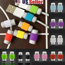 4 PCS USB CHARGER CABLE SAVER PROTECTOR FOR APPLE IPHONE 5 5S 6 PLUS