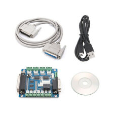 DB25 Cable 5 Axis CNC Breakout Board Interface Adapter For Stepper Motor + USB