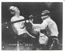 MAX BAER vs LOU NOVA 8X10 PHOTO BOXING PICTURE
