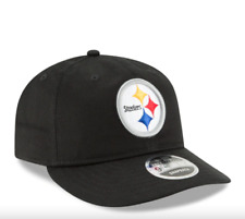 Pittsburgh Steelers New Era 9FIFTY Youth Black Adjustable Snapback Hat NWT $30