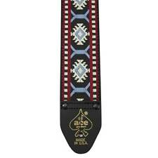 D'ANDREA USA ACE VINTAGE REISSUE SNOWFLAKE GUITAR STRAP - ACE 10 - BRAND NEW