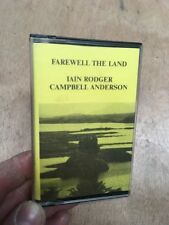 Iain Rodger & Campbell Anderson-Farewell The Land Cassette/Tape Album Signed