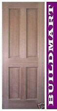 NEW SOLID TIMBER MAPLE 4 PANEL HOUSE DOORS many sizes