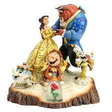 Disney Traditions by Jim Shore Beauty and the Beast Six Character Stone Resin.