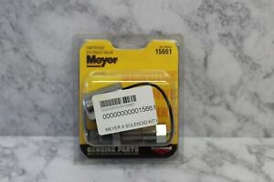 New Meyer A Solenoid Cartridge Valve Assembly #15661