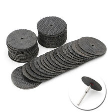 50Pcs Abrasive Tool 32mm Disks Cutting Discs Cut Off Wheel Rotary Grinding New