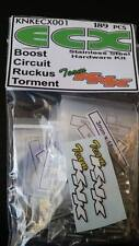 Stainless Hardware Kit for ECX Boost/Circuit/Ruckus/Torment 189 pcs Team KNK