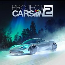 official PROJECT CARS 2 DYNAMIC home menu screen THEME for PLAYSTATION 4 PS4 dlc