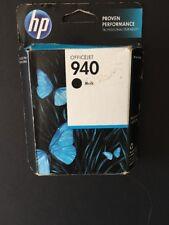 Genuine HP 940 Black Ink Cartridge Retail Box C4902AN  New Exp 5/2015 (CC)