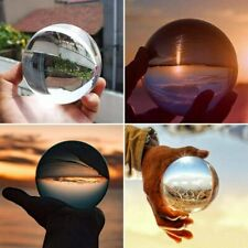 60mm Crystal Ball Lens Photography Clear Glass Healing Prop Photo Sphere Decora