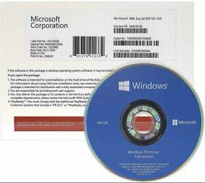 Microsoft Windows 10 Professional 64-Bit English Genuine Sealed Pack