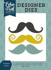 Echo Park NIP Petticoats & Pinstripes Mustaches Mustach Designer Dies Die Set