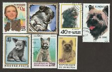 Cairn Terrier * Int'l Dog Postage Stamp Art Collection * Great Gift Idea*