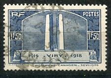 PROMO / STAMP /  TIMBRE FRANCE OBLITERE  N° 316 MONUMENT DE VIMY COTE 10 €