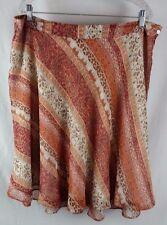 Laura Ashley Women's SILK Skirt 18W Lined VERY FEMININE