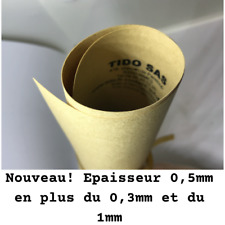 """Feuille de papier joint """"indéchirable"""" Ep 0,3 ou 0,5 ou 1mm pour joint moteur"""