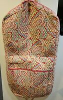 Vera Bradley Garment Bag Retired Capri Melon Pattern - NICE!