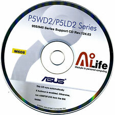 ASUS P5LD2 &  P5LD2 DELX Motherboard Drivers Install  M608