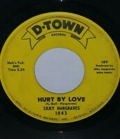 """SILKY HARGRAVES """"HURT BY LOVE"""" RARE NORTHERN SOUL"""