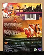 UNOPENED Disney Oliver and Company; Fox and The Hound Fox & Hound II Blu-ray DVD