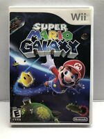 Super Mario Galaxy - Nintendo Wii - Clean & Tested Working - Free Ship